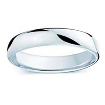 4.5mm Wedding Ring in 14K White Gold