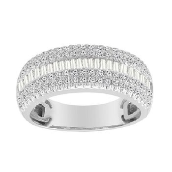 1ct tw Diamond Fashion Ring in 10K White Gold
