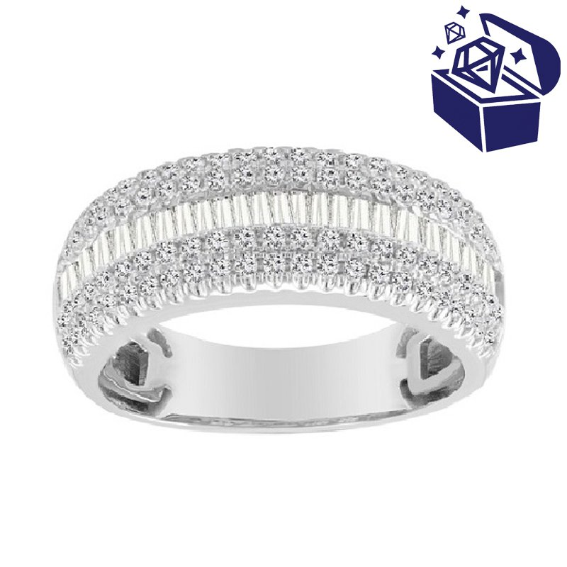 Treasure Hunt Value 1ct tw Diamond Fashion Ring in 10K White Gold