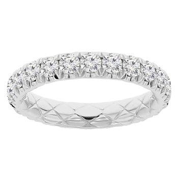 1 3/4ct tw Diamond Eternity Ring in 14K White Gold