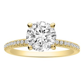1 1/3ct tw Diamond Engagement Ring in 14K Yellow Gold