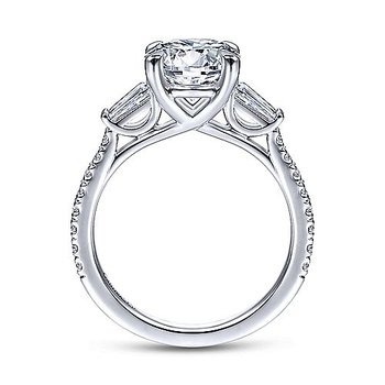 2 7/8ct tw NewBorn Lab Created Diamond Engagement Ring in 14K White Gold