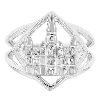 .01ct tw Diamond Nola Collection Ring in Sterling Silver