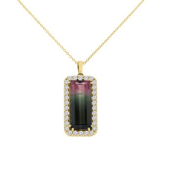 5 7/8ct tw Fashion Necklace in 14K Yellow Gold