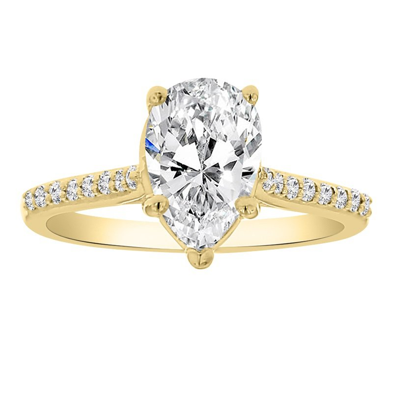 1 3/4ct tw Diamond Engagement Ring in 14K  Yellow Gold