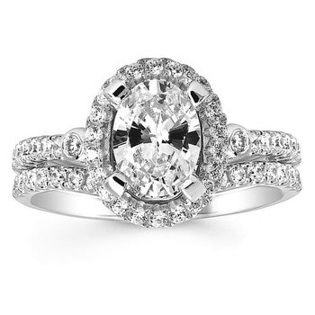 1/5ct  tw Diamond Wedding Ring in 14K White Gold