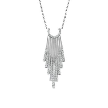 1/2ct tw Diamond Fashion Necklace in 14K White Gold