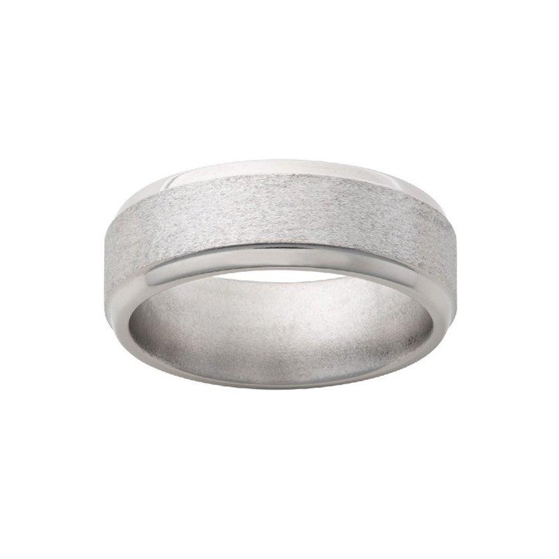 8mm Wedding Ring in Titanium
