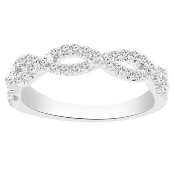3/8ct tw Diamond Together Forever Stackable Ring in 14K White Gold