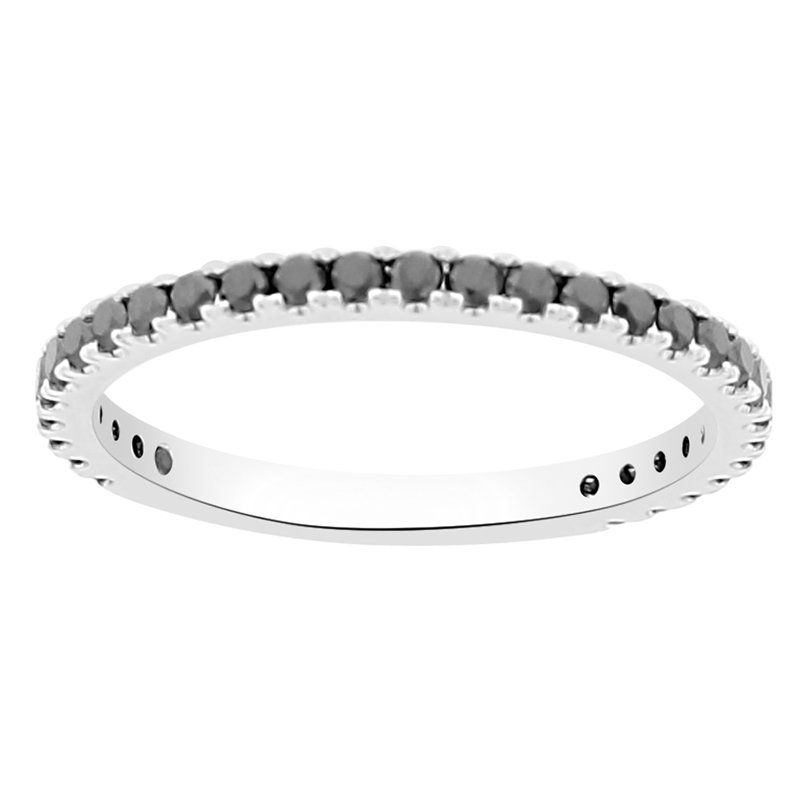 3/8ct tw Diamond Stackable Ring in 14K White Gold