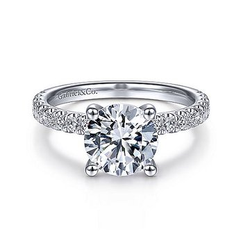 2 1/2ct tw Diamond Engagement Ring in 14K White Gold