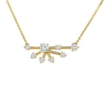 1/2ct tw Diamond Fashion Necklace in 14K Yellow Gold