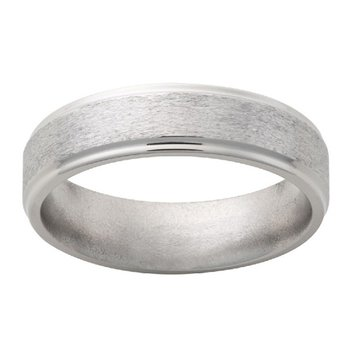6mm Wedding Ring in Titanium