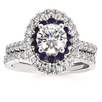 1/4ct tw Diamond Wedding Ring in 14K White Gold