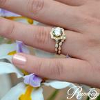 1/8ct tw Diamond Wedding Ring in 14K Yellow Gold