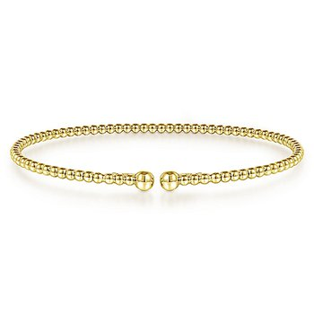 Bujukan Bangle Bracelet in 14K Yellow Gold