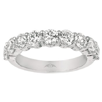 1 7/8ct tw Diamond Anniversary Ring in 14K White Gold