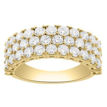 2 1/3ct tw Diamond Fashion Ring in 14K Yellow Gold
