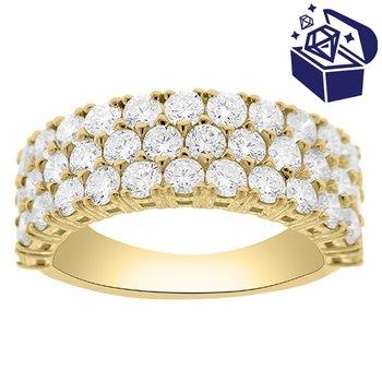 Treasure Hunt Value 2 1/3ct tw Diamond Fashion Ring in 14K Yellow Gold