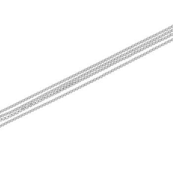 4 1/8ct ct Diamond Strand Bracelet in 14K White Gold