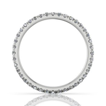 1/2ct tw Diamond Eternity Ring in 14K White Gold
