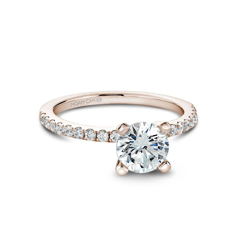 1 1/4ct tw Diamond Engagement Ring in 14K Rose  Gold