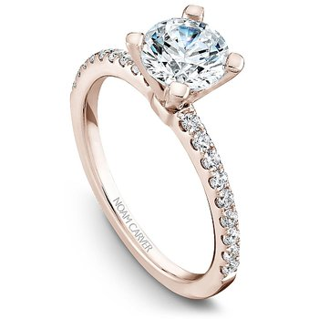 1 1/4ct tw Diamond Engagement Ring in 14K Rose  Gold