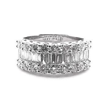 Baguette Fashion Ring