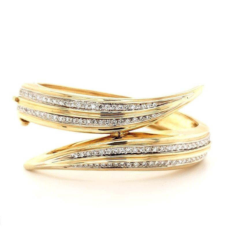 Estate Collection Diamond Cuff Bracelet