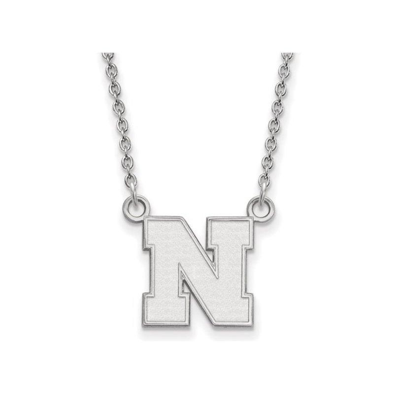 "Husker Jewelry Collection 14K Husker ""N"" Pendant"