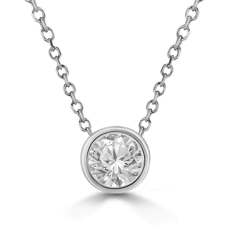 Sartor Hamann Signature Bezel Set Diamond Pendant