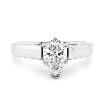 .74 CT Pear Shape Solitaire
