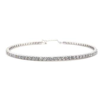 Prong Set Bangle Bracelet