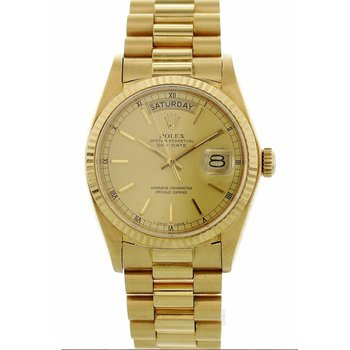 18K Yellow Gold Day-Date