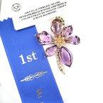 Estate Collection Award Winning Convertible Brooch