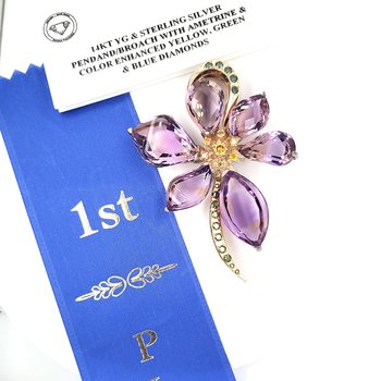 Award Winning Convertible Brooch