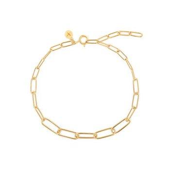 Theodora Paper Clip Bracelet