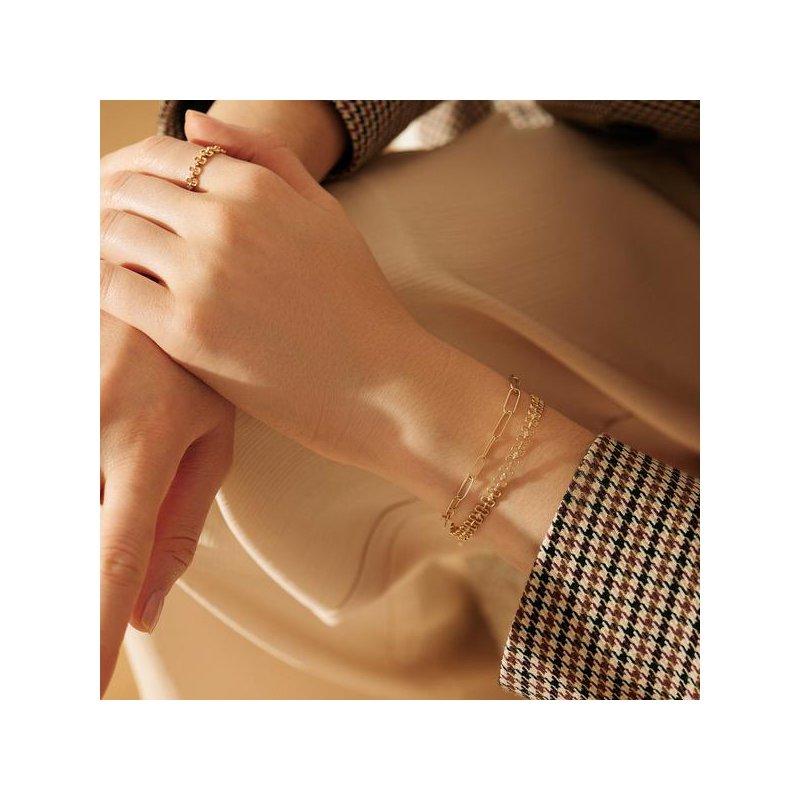 Aurelie Gi Theodora Paper Clip Bracelet