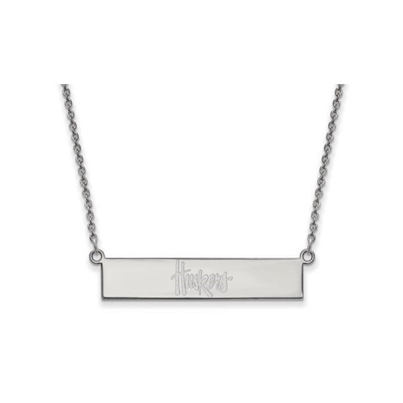 Husker Jewelry Collection Huskers Bar Pendant