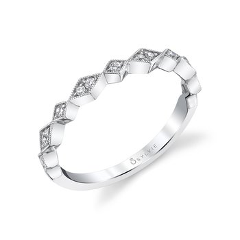Sylvie Stackable Wedding Band