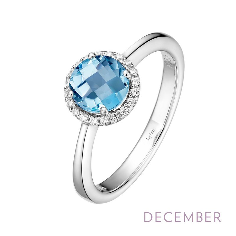 Sartor Hamann Signature Sterling Silver Birthstone Rings in 12 Colors