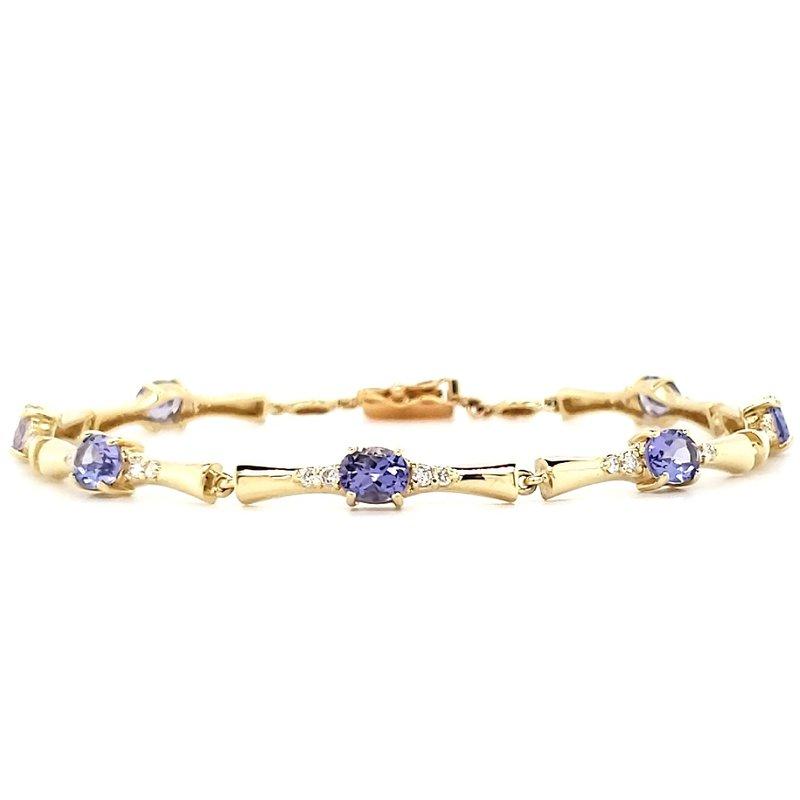 Estate Collection Tanzanite Bracelet