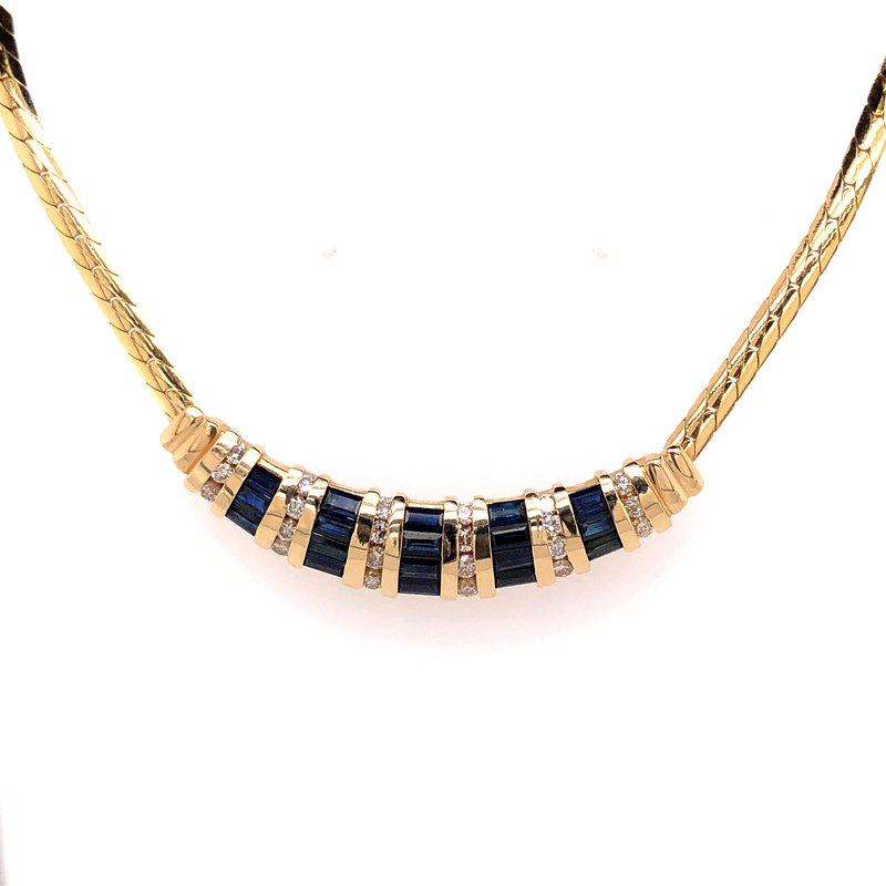 Estate Collection Sapphire Necklace