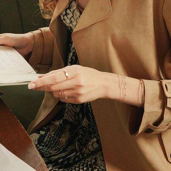 Jane Open Heart Bracelet