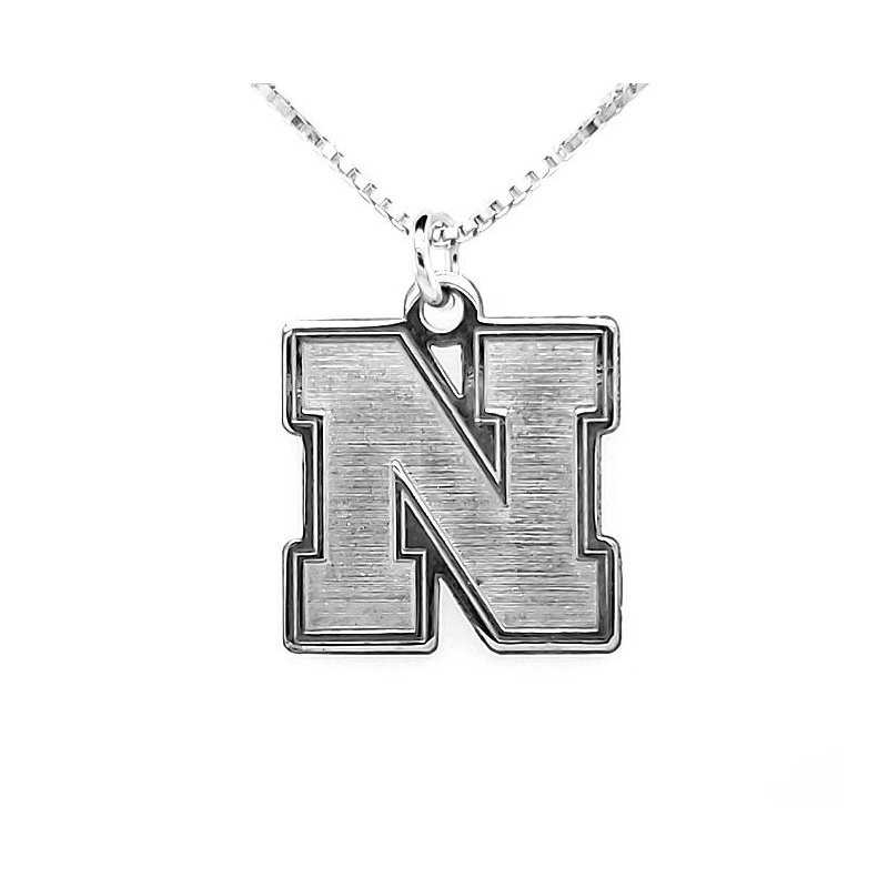 "Husker Jewelry Collection Husker ""N"" Pendant"