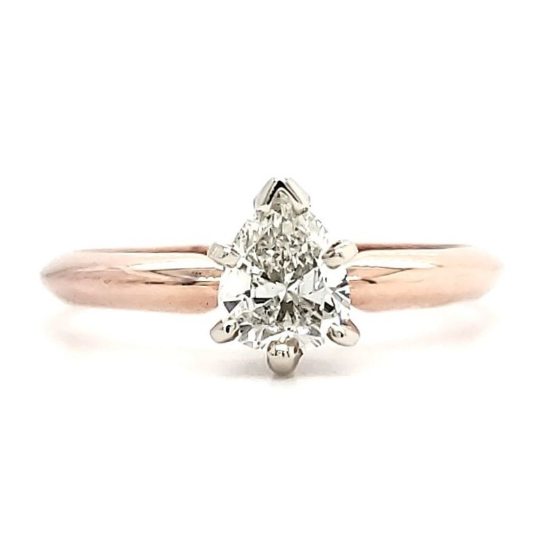 Sartor Hamann Bridal .53 CT Pear Shape Solitaire