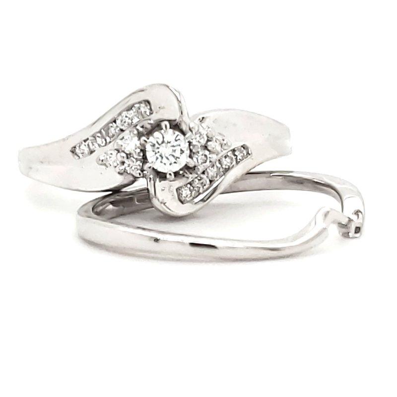 Estate Collection Diamond Wedding Set