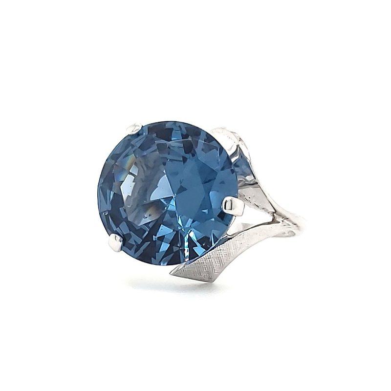 Estate Collection Blue Spinel Stunner!