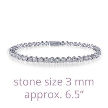 """Lafonn Sterling Silver Tennis Bracelet - 6.5"""""""