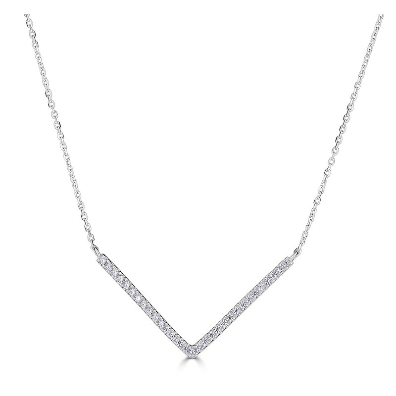 Sartor Hamann Signature Diamond V Pendant